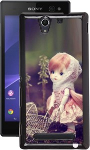 Fuson Back Cover for Sony Xperia C3