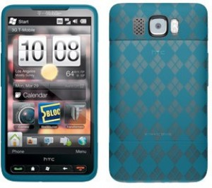 Amzer Back Cover for HTC HD2