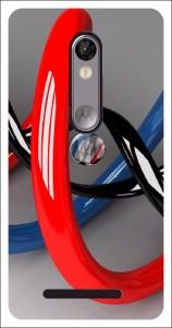 Designerz Hub Back Cover for Moto X Force
