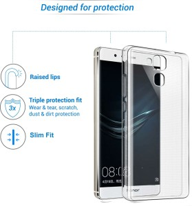 new product 0defe 7cf4e Flipkart SmartBuy Back Cover for Honor 5CTransparent