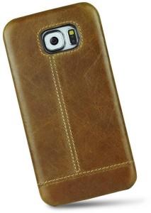 quality design f5e17 97c0a Unique Design Back Cover for Samsung Galaxy Note 5 (Leather Case)Brown