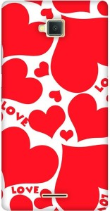 quality design 228cb 5fda6 MOBART Back Cover for Lava A82Red