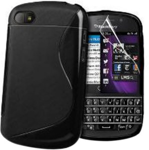 best service e41fe 0ec96 24/7 Zone Back Cover for Blackberry Q10Black