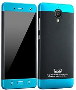 sale retailer ad18b c842e Heartly Back Cover for Xiaomi Miui Mi 4 Mi4Blue Black Blue