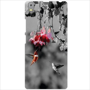 Via Flowers Llp Back Cover for Lenovo K3 Note PA1F0001IN