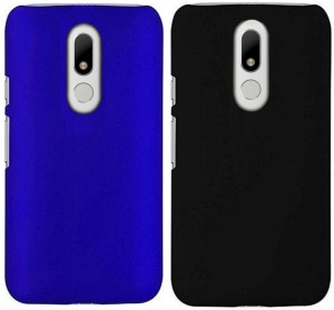 save off a44c6 e3acb Unistuff Back Cover for Motorola Moto MRoyal Blue, Black