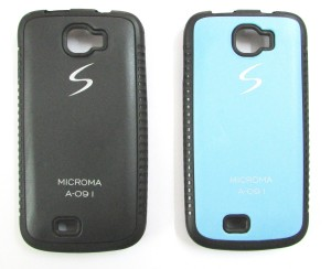 reputable site 8cd50 17d8f Ibnelite Back Cover for Micromax Canvas Engage A091Black, Blue