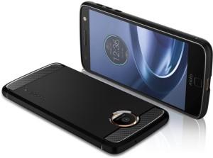 super popular 913b0 b7fc8 Spigen Back Cover for Motorola Moto Z Force Droid / Moto Z Force (2016)Black