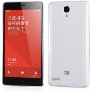 best loved 9954a 3b98f Rarefied Back Cover for Xiaomi Redmi Note PrimeTransparent