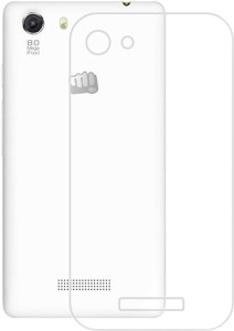 watch 7cd63 09a18 Mercury Case Back Cover for Micromax canvas fire 4g plus Q412Transparent