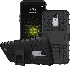 purchase cheap 35043 a30fc S-Line Back Cover for LG K10 (2017)Black