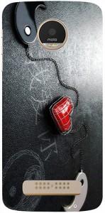 Casotec Back Cover for Motorola Moto Z Play