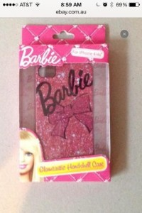 Barbie Back Cover for IPhone 4