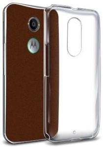 outlet store fb95d fd7e3 Aspir Back Cover for Motorola Moto E (2nd Gen) 4G, Motorola Moto E (2nd  Gen)3GSoft Transparent