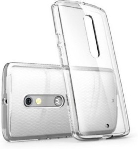 new styles 3bfb7 83dbb Rarefied Back Cover for Motorola Moto X PlayTransparent