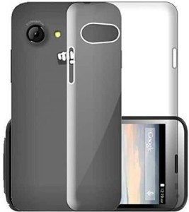 huge selection of 19f22 9f6a0 ECellStreet Back Cover for Micromax Bolt Q326Transparent