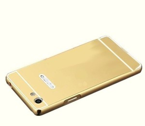 new styles ec52f 3a671 Ifra Back Cover for Vivo V5-GoldGold