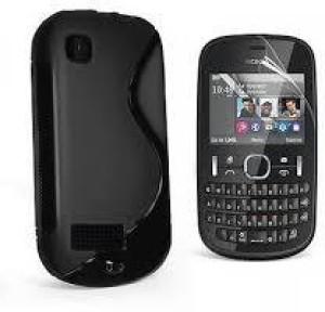 premium selection 01f8f a6e8e SmartLike Back Cover for Nokia 301Black