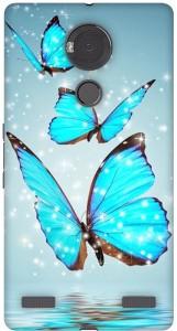 online retailer 0031a 6193b Fasheen Back Cover for Micromax YU Yureka NoteBlue