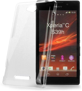 huge discount 8c182 3aae5 DNG Back Cover for Sony Xperia C C2305Transparent