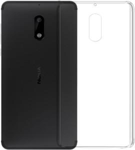 big sale bc2fb db7d2 Deltakart Back Cover for Nokia 6Transparent