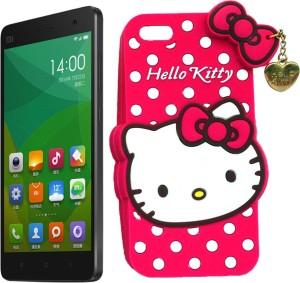 new style c0cf5 15150 Hello Kitty Back Cover for Xioami Mi 4Multicolor, Rubber
