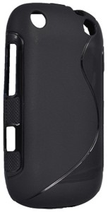 reputable site ada16 7db50 S-Model Back Cover for BlackBerry Curve 9320Black