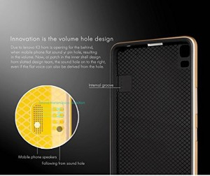 newest 33a7e a6d9d iPaky Back Cover for Lenovo A7000 K3 Note Black Gold Best Price in ...