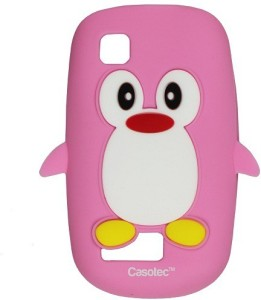 buy online 0578c 6d751 Casotec Back Cover for Nokia Asha 201Baby Pink