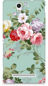 Amez Back Cover for Sony Xperia C3 (D2502)