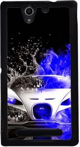 Printvisa Back Cover for Sony Xperia C3, Sony Xperia C3 Dual
