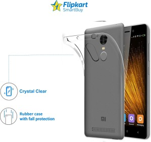 info for f793e 42bc7 Flipkart SmartBuy Back Cover for Redmi Note 4 Transparent Best Price ...