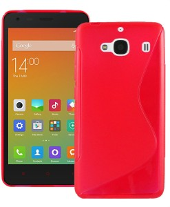 reputable site d98f7 c6392 Cool Mango Back Cover for Xiaomi Redmi 2 PrimeRed