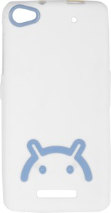 size 40 cf782 e2c34 Iway Back Cover for Micromax Canvas 4 Plus A315White