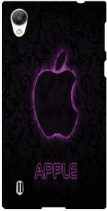 sale retailer 32cf9 ac73d Ifra Back Cover for Mirror Back Cover Case For Vivo 1603 Black Black ...