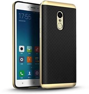 180feba7da2 Ifra Back Cover for Xiaomi Redmi Note 4 Black Gold Gold Best Price ...