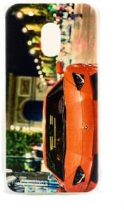 Mystry Box Back Cover for Motorola Moto G4 Play Multicolor Car World, Plastic