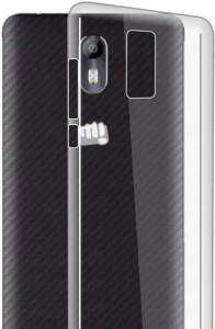 online store 29ca9 284ab ZUAH Back Cover for Micromax Canvas Evok E483Transparent