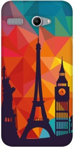 MOBART Back Cover for Micromax Bolt Q346