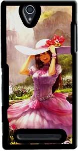 Saledart Back Cover for Sony Xperia C3