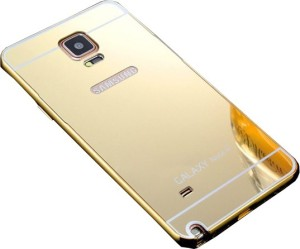new product 7bb86 23826 joshi Back Cover for SAMSUNG Galaxy Note 4Gold 24k