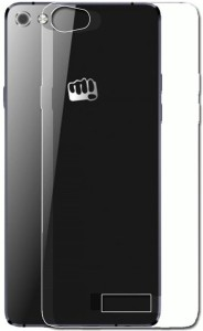 factory authentic 1bd76 b8f8a Kolorfame Back Cover for Micromax Canvas 5 E481Transparent