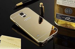 JKR Back Cover for JKR Luxury Metal Bumper Acrylic Mirror Back Cover Case For Samsung Galaxy