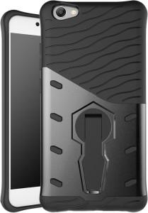 reputable site 14eaf b99d6 Taslar Back Cover for VIVO V5, V5sBlack & Grey