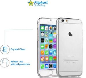 super popular 4ac65 1e66b Flipkart SmartBuy Back Cover for Apple iPhone 6 PlusTransparent