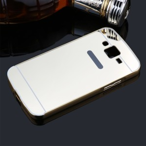 big sale 18857 c7ab6 Case Design Back Cover for Lenovo k3 Note A7000 ( Mirror Back Cover )Steel  Silver