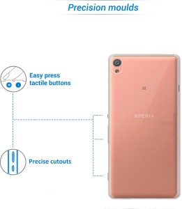 best service 71063 becc0 Flipkart SmartBuy Back Cover for Sony Xperia XATransparent