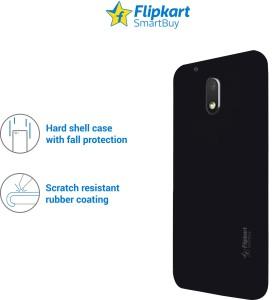 new concept 5440f ef29d Flipkart SmartBuy Back Cover for Motorola Moto E3 PowerBlack