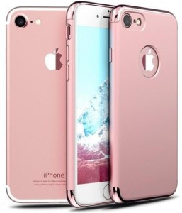 online store 4817f c970e iPaky Case Back Cover for Apple iPhone 7Rose Gold