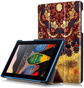 YAOJIN Book Cover for Lenovo Tab 3 7.0 Essential 7